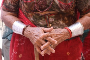 Woman's hands - Thar Desert