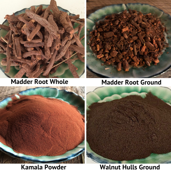 roots, nuts and fruit powder